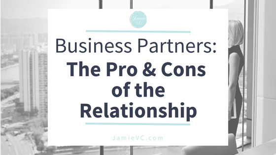 Business Partners – The Pro and Cons of the Relationship