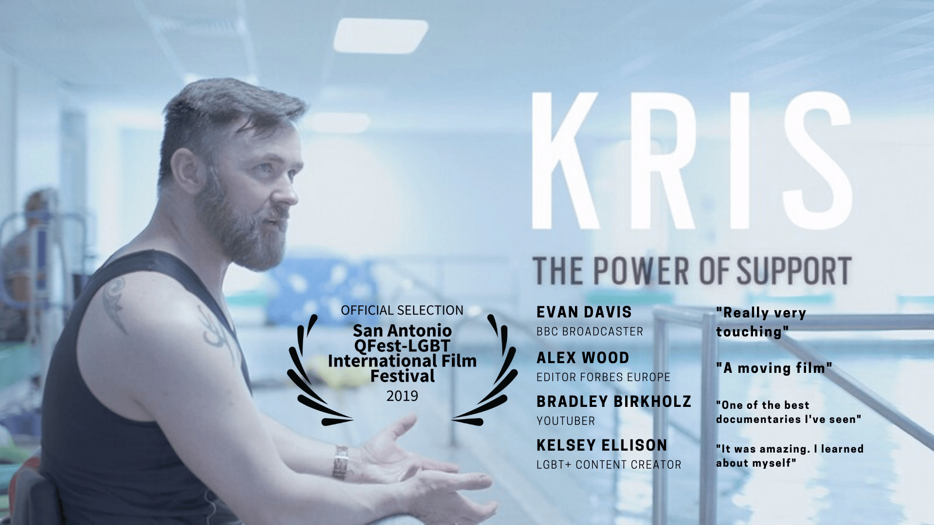 Kris The Power Of Pupport Poster with Evan Davis comments Really Very Moving