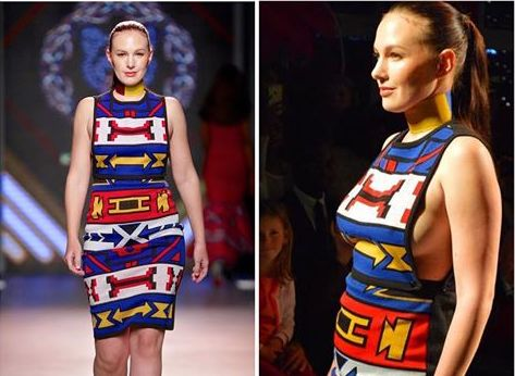 Traditional Art Meets Fashion With Ndebele Dresses
