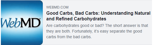 Carb Quality article