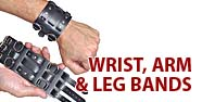 Wrist, Arm & Leg Bands Featured by Jamin' Leather