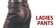 Ladies Pants Featured by Jamin' Leather