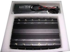 12 Bands Jammer GSM, 2G, 3G, 4G LTE, VHF UHF