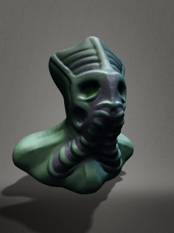 123DSculpt_AlienHead