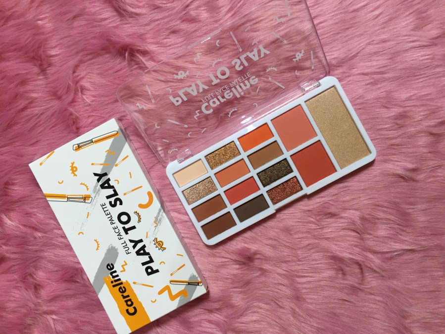 Careline Play To Slay Palette Review