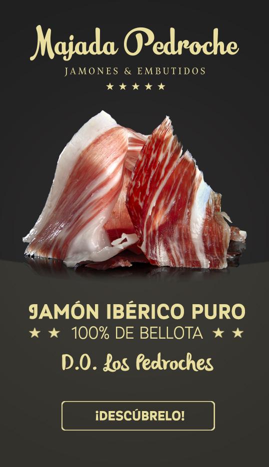 Jamón 100% ibérico de bellota denominación de origen los pedoches