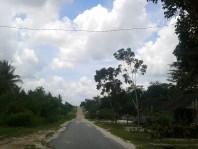 Jalan di Pangkalan Bun