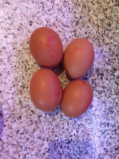 4 Free Range Eggs
