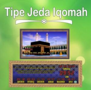 Jual jam jadwal sholat digital masjid murah di tambun barat