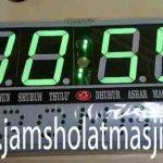 penjual jam jadwal sholat digital masjid running text di Jatiasih bekasi