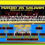 penjual jam jadwal sholat digital masjid running text di Cimuning bekasi