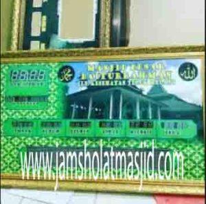penjual jam jadwal sholat digital masjid running text di Jatimelati bekasi