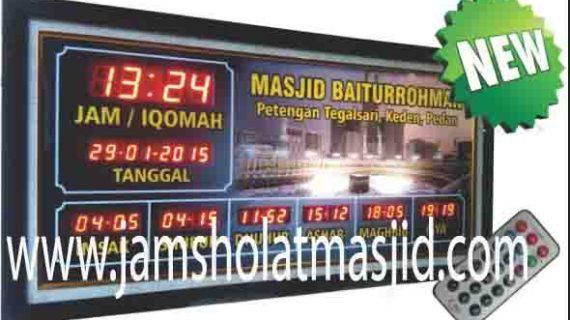 penjual jam digital masjid dibekasi