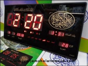 jual jam digital untuk masjid di tangerang timur