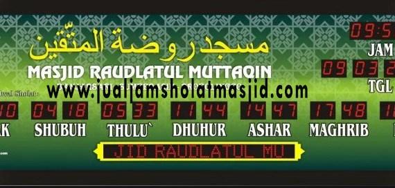 jual jam digital masjid di depok
