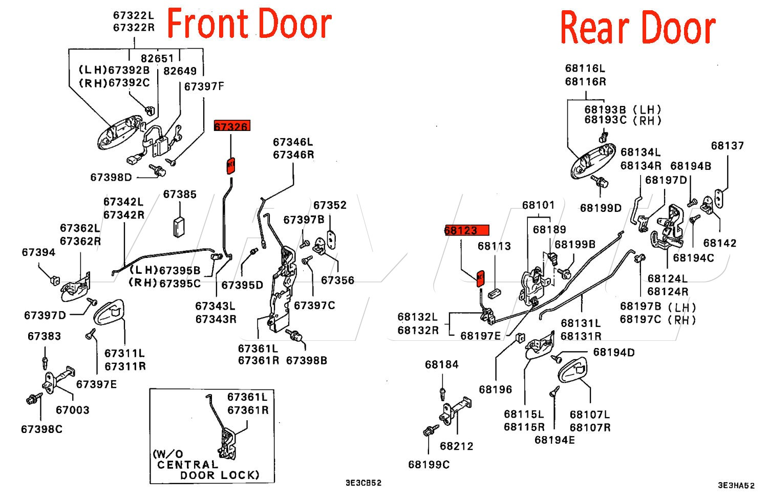 Door Schematic