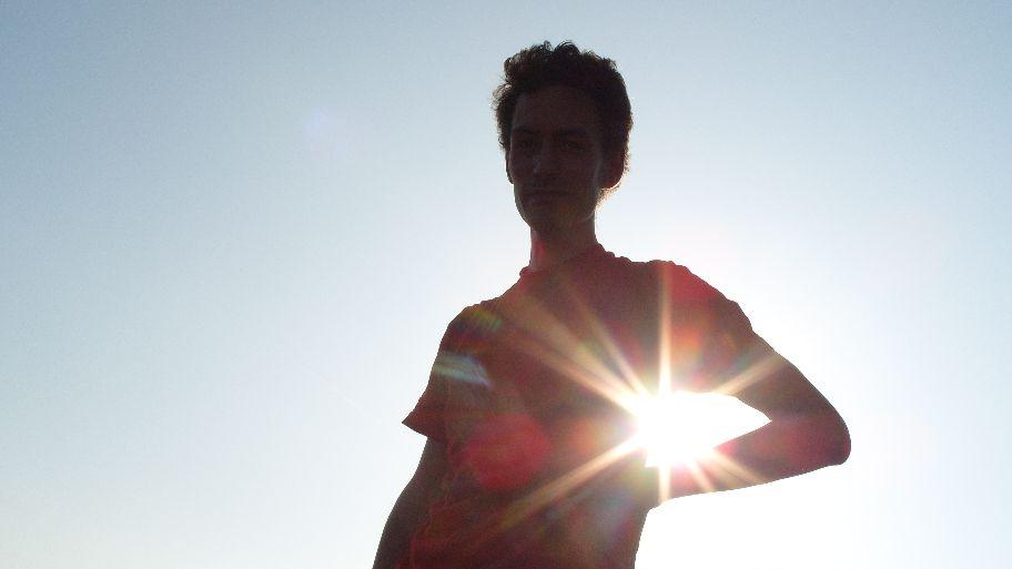 ...mit der Sonne unterm Arm!
