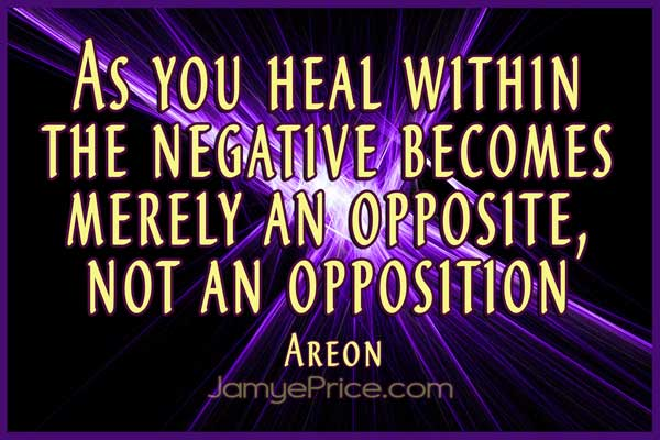 Negative is not Opposition by Jamye Price