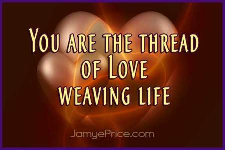 You are the Thread of Love by Jamye Price