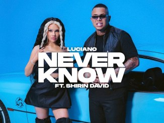 Luciano & SHIRIN DAVID Never Know MP3 DOWNLOAD