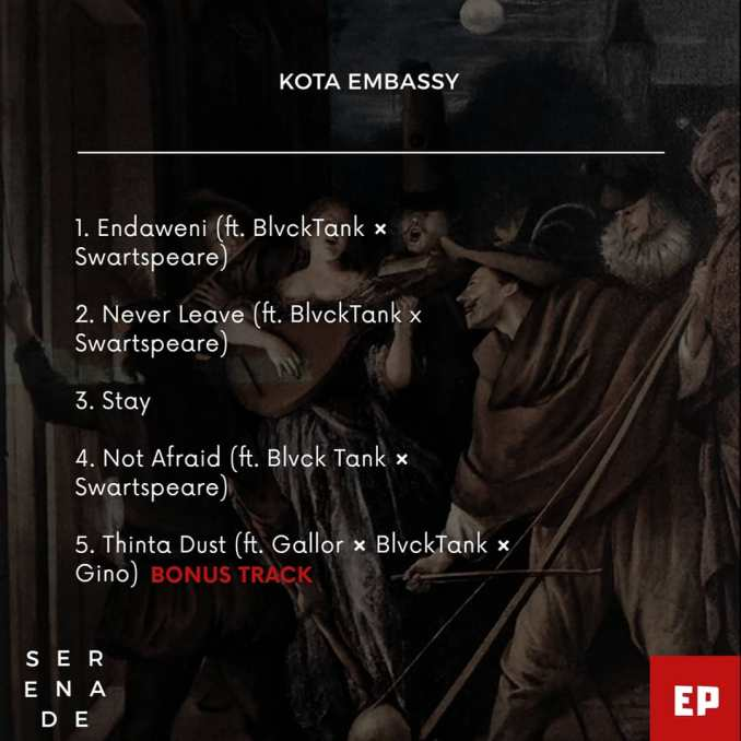 Kota Embassy Never Leave MP3 DOWNLOAD