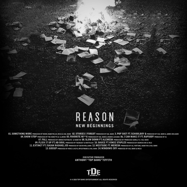 REASON Slow Down MP3 DOWNLOAD