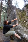 Bouldern im Magic Wood