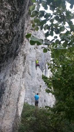 Mit Simon am Ingelstein im Basler Jura