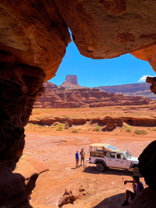 Wind Caves, Moab, Utah