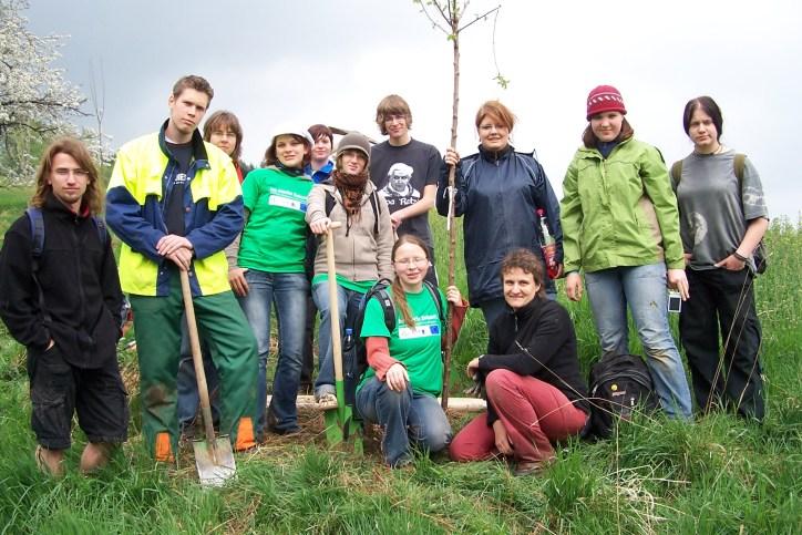 Umweltpädagogisches Seminar - Gruppe
