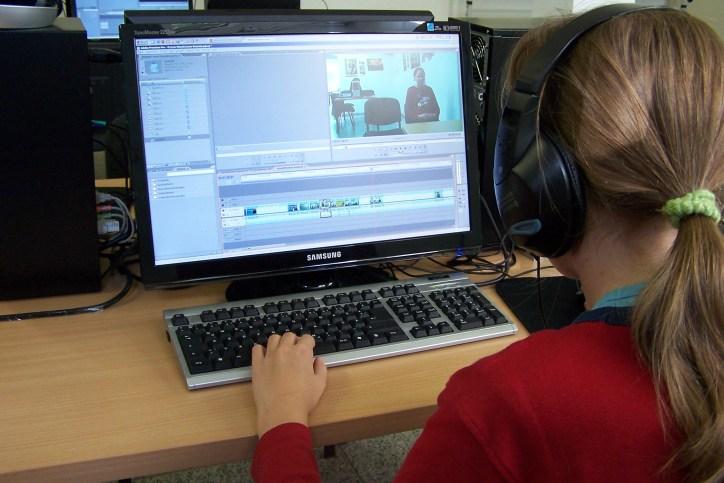 Medienpädagogik - Kind am Computer