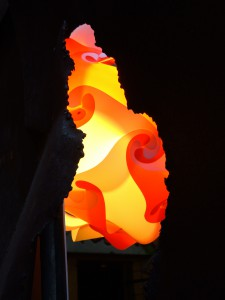 Lampe durch Rost