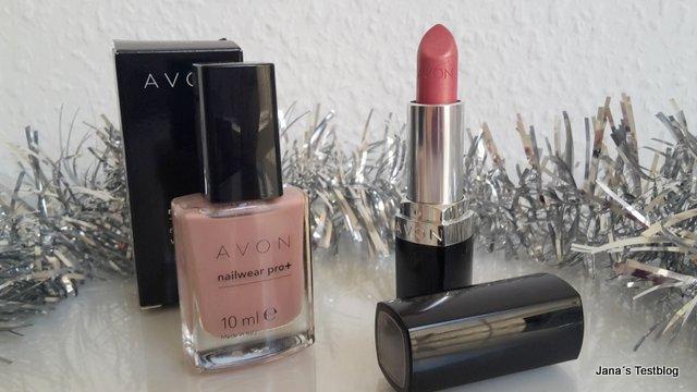 AVON Nagellack und Lippenstift