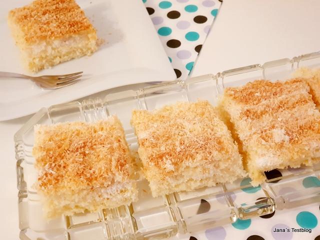 Rezept: Buttermilch-Kokos-Kuchen