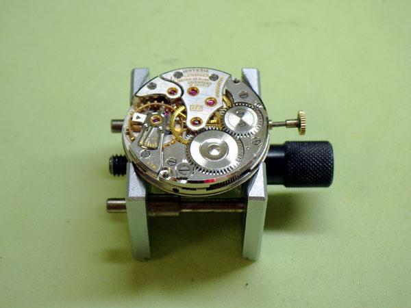 ロンジン 14K金無垢 ラウンドモデル 手巻き Cal.23Z オーバーホール 分解洗浄修理