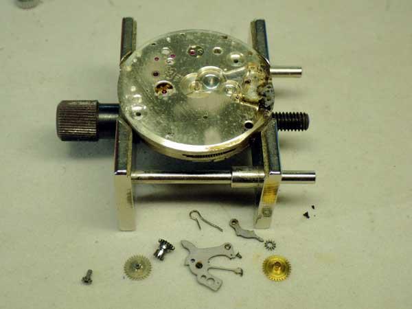 ブライトリング クロノグラフ オーバーホール 分解修理
