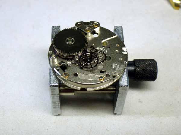 ミスターピーナッツ デイト付き手巻き時計 オーバーホール分解修理