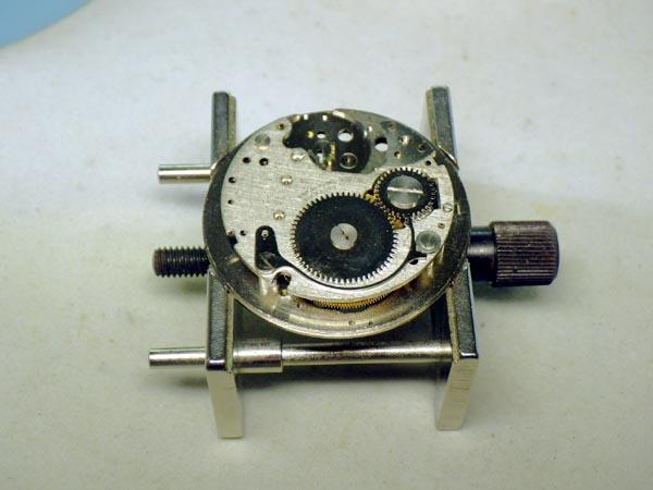 ブラッドレイ ミッキーマウス 機械式手巻き オーバーホール 分解修理
