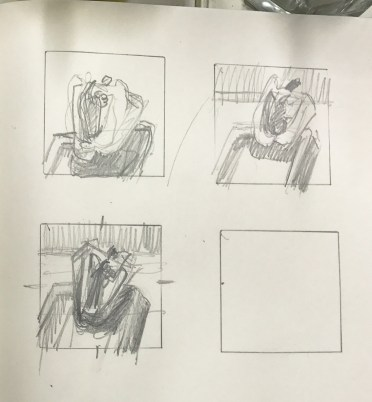 Veggie Porn Thumbnail sketches