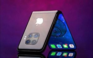 १५ सय अमेरिकी डलर पर्ने फोल्ड गर्न सकिने आइफोन सार्वजनिक