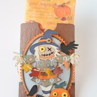 Fun Fall Gift - Scarecrow Scented Sachet Envelope
