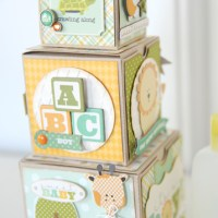Carta Bella Paper: Baby Boy Blocks