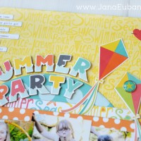 Echo Park Paper: Summer Party Page