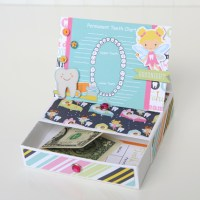 Echo Park Paper: Tooth Fairy Easel Trinket Box