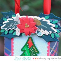 Echo Park Paper: Christmas Ornament with Deck the Halls
