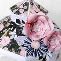 Echo Park Paper: Wedding Gazebo Gift Box