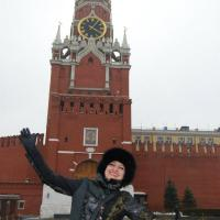 Standing on the Red Square, a dream come true!