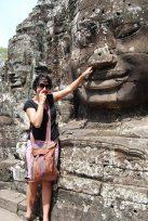 Me at Angkor Wat, Cambodia
