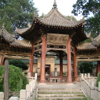 The Great Mosque of Xi'an is completely Chinese in style