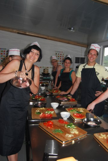 Chinese cooking class